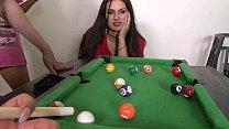 Upskirt Billiard with Big Tits, Nice Ladies at ...