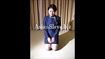 After slave training, a Chinese flight attendan...