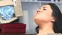 Monica Saige spread her legs wide open and she ...