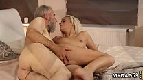 Old man creampie Surprise your gf and she will ...