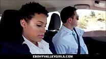 Cute Young Black Ebony Amethyst Banks Has Sex W...