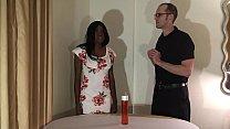 Melody Cummings - Hot Ebony Chick Turns into Se...