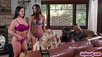 Angela and Silvia join the bachelorette party!