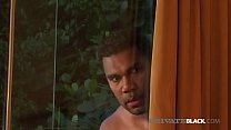Black Brazilian Sandy Rio is anal pounded by 2 ...