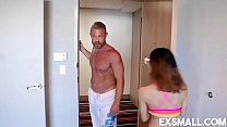 Jasmine Grey Blowjob and Fucking Stirling Cooper
