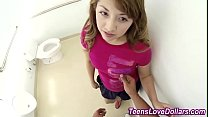 Sperm soaked amateur teen