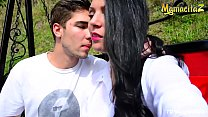 MAMACITAZ - Fantastic Outdoor r. Sex With Colom...