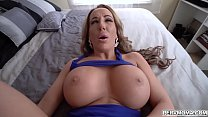Busty MILF shows off her fucking skills with st...