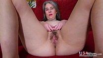 USAwives Horny Milf Self Masturbation Footage