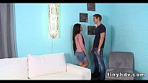 Petite tiny girl drilled Lacie Channing 91
