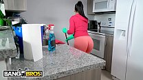 BANGBROS - Latin Housekeeper Rose Monroe Takes ...