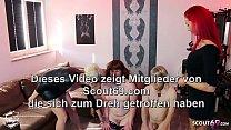Junge deutsche Domina Anni Angel und Freundin m...