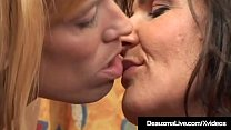 Hot Older Lady Deauxma puts her talented tongue...