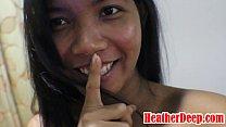 (Onlyfans.com/heatherdeep) Thai teen mom get an...