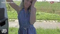 MyDirtyHobby - Blonde German MILF hitchhiker se...