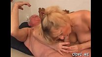 Sexual blonde Natalie with great natural tits f...