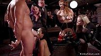Well trained sluts big tits Penny Pax and ebony...