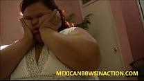 bbw latina internal cum creampie