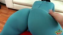 Big Bubble Ass Slim Body & Camel-toe In Tight T...