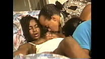 Foursome with two straight black couples suckin...