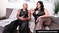 Oversized Big Boobed Cuban Angelina Castro & Bi...