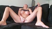 Perfect tits babe masturbates to orgasm