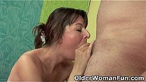 Watch Mom takes a cum load in_her mouth preview