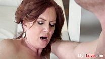 Cheating While MILF's Old Useless Husband's Gone