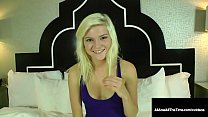 Petite Poop Chute Chick, Chloe Foster, gets her...