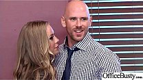 (Nicole Aniston) Girl With Round Big Tits In Ha...