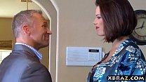Watch Huge tits housewife Peta Jensen cheats on her husband preview