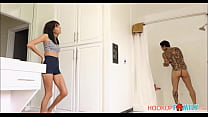 Young Petite Brunette Step Sister Janice Griffi...