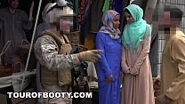 TOUROFBOOTY - Muslim Women Get Pimped Out To Am...