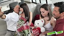 Teens Aften Opal and Hime Marie gets their mout...