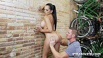Big Boobed Brunette Katrina Moreno shares her p...