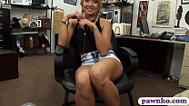 Small breasts blondie girl gives a nice sloppy ...
