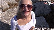 skinny hot blonde german teen fucks at userdate...