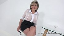 Busty British mature tells us how much she miss...