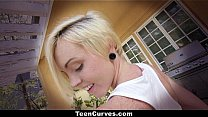 Teen Curves - (Miley May) Big Ass Oiled Up And ...