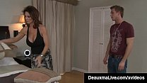 Hot Big Titty Mommy, Deauxma spreads her shapel...