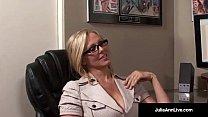 World Famous Milf, Julia Ann is an Office Slut ...