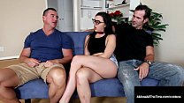 Sweet young geek girl, Whitney Wright gets a ri...
