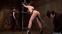 Master Orlando and mistress Claire Adams with t...