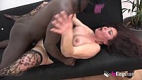 Mature Zazel is in her 50s, but she has never h...