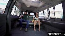 Naturally busty teen fucks in moving car Thumbnail