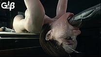 Jill Valentine Deepthroat 3d Animation