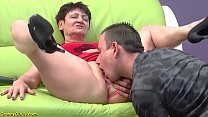 horny 82 years old granny gets rough doggystyle...