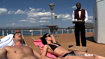 Dicked On Deck! Miss Aliz & her man James are o...