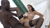 Anal fuck and_ass creampie for mature that wants black cock Thumbnail