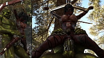monster cock orc fuck